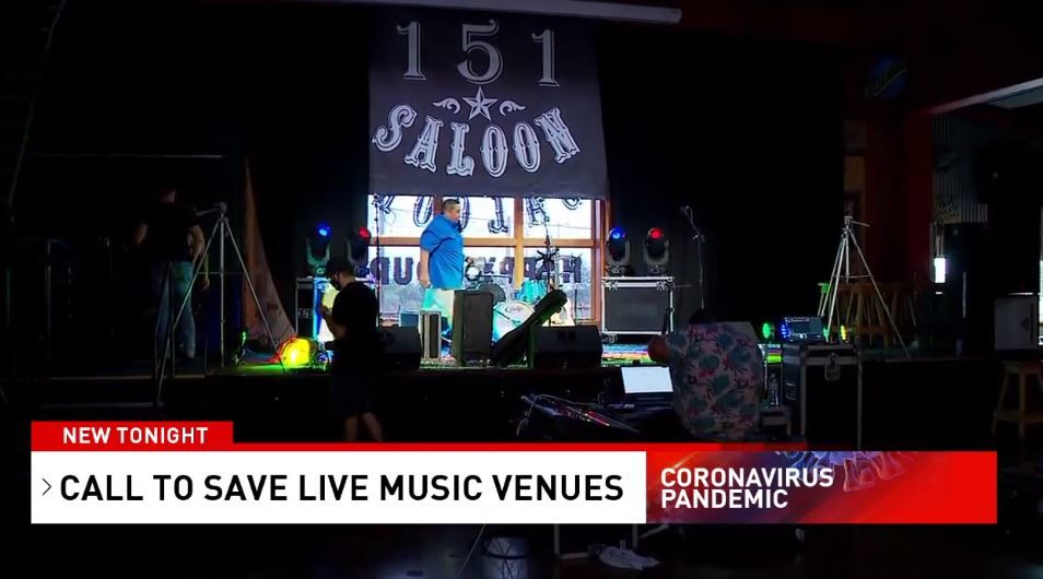 Though currently closed, 151 Saloon recently hosted a virtual concert to benefit San Antonio musicians.