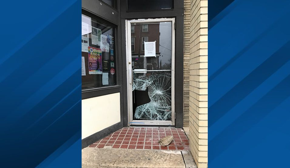 <p>Columbus Police are now searching for suspected crooks accused of busting into restaurants and bars while they've been ordered closed because of the coronavirus outbreak. (Courtesy: Yellow Brick Pizza)</p>
