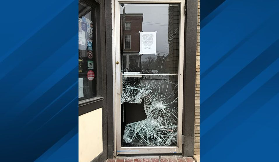 Columbus Police are now searching for suspected crooks accused of busting into restaurants and bars while they've been ordered closed because of the coronavirus outbreak. (Courtesy:{ }Yellow Brick Pizza)