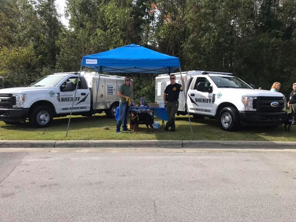 Craven County Pet Expo (Photo courtesy Craven County Sheriff's Office)<p></p>
