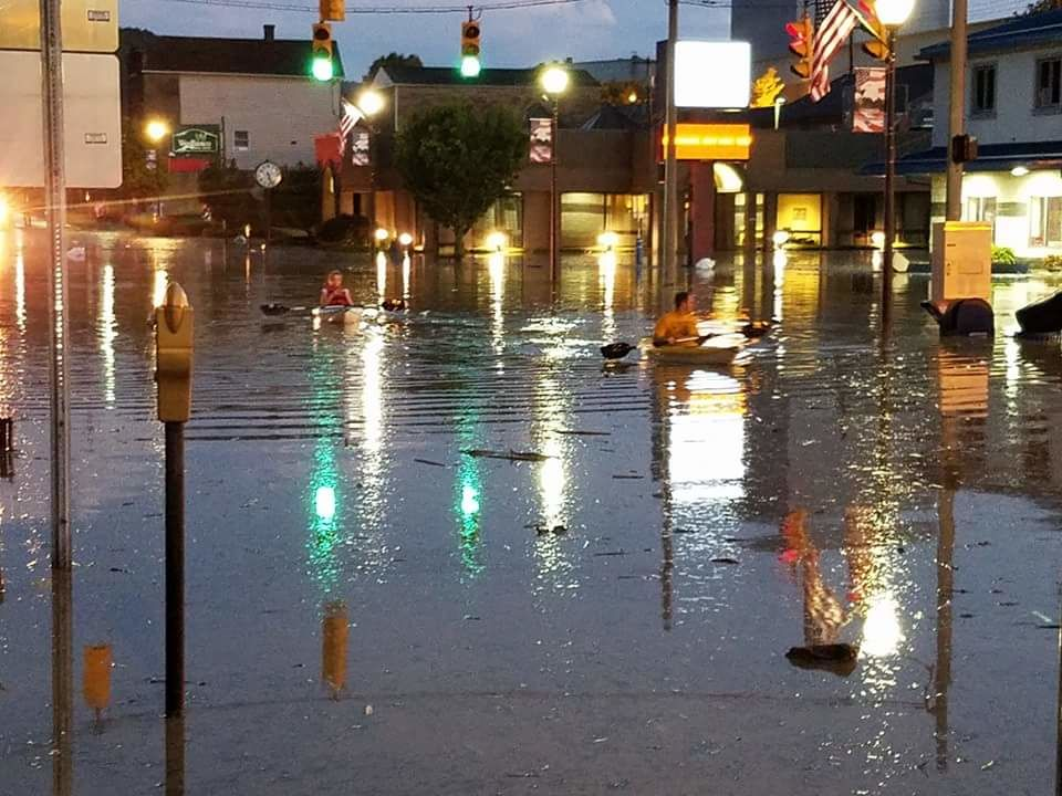 Follansbee Flooding