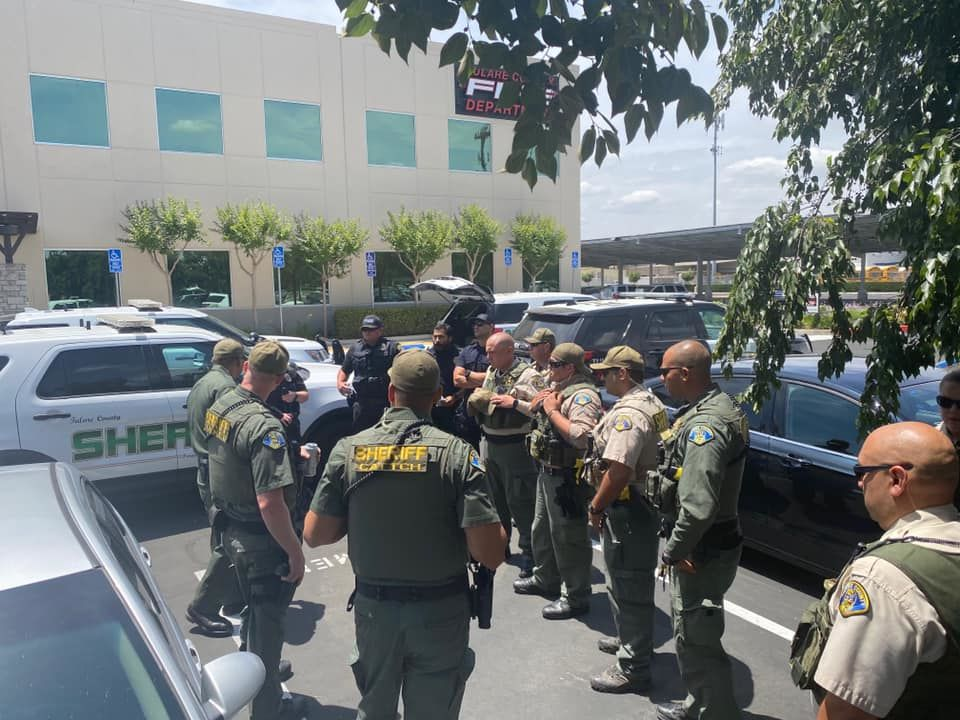 Tulare & Kings counties sending law enforcement to Oakland to help at protests (Courtesy: TCSO)
