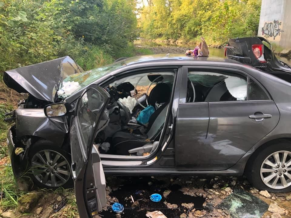 Nissan Cleveland Tn >> Hixson woman seriously injured in Ohio after car falls nearly 100 feet into river bed | WTVC