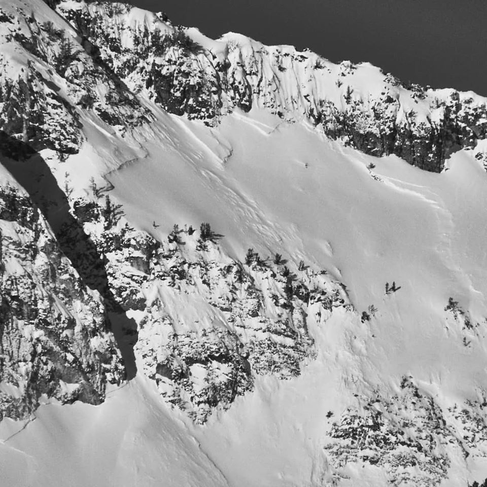 A 6.5 magnitude earthquake that struck in central Idaho on Tuesday night caused little damage--and a massive avalanche. (Photo: Ben VandenBos/SAC)