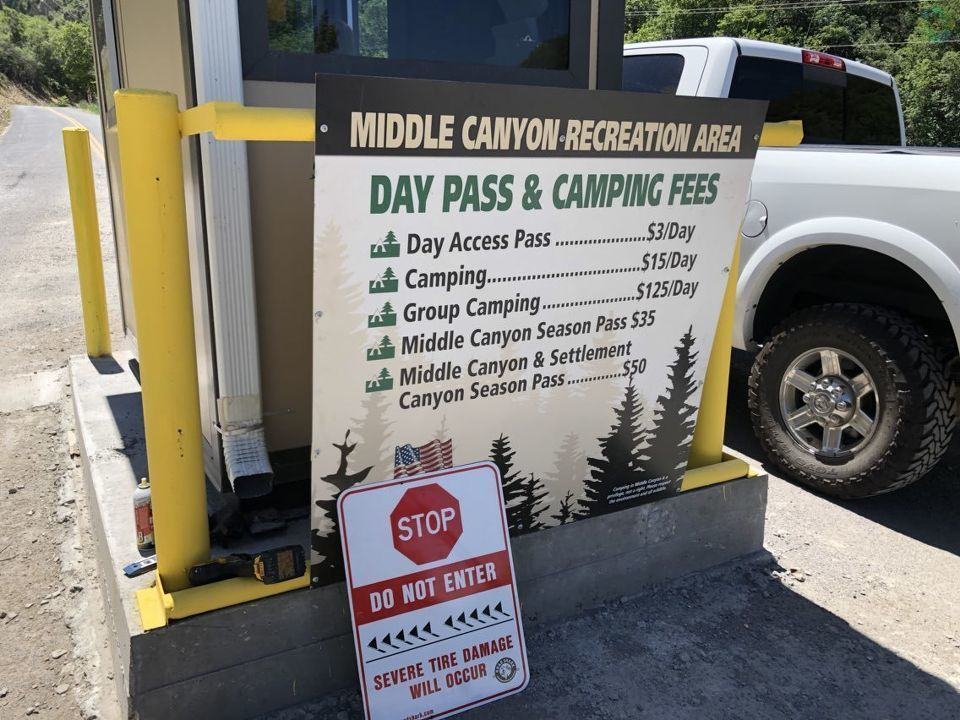 Driving through Middle Canyon in Tooele Canyon? It'll now cost you. (Photo: RaeAnn Christensen, KUTV)