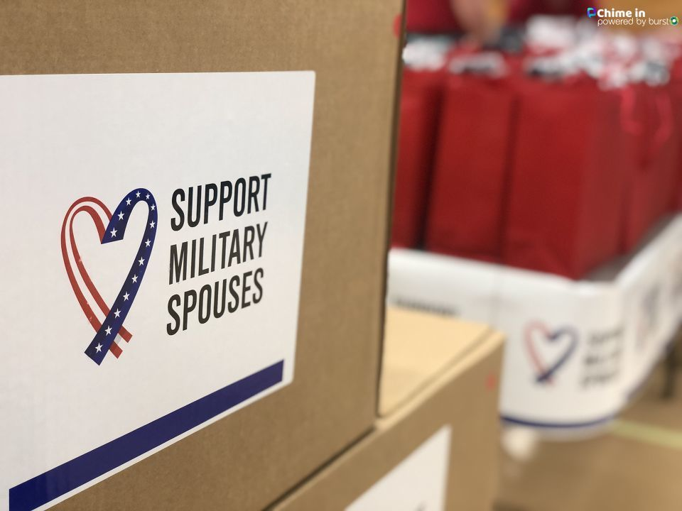 Support Military Spouses gives care packages (Christina Thompson, NewsChannel 12)