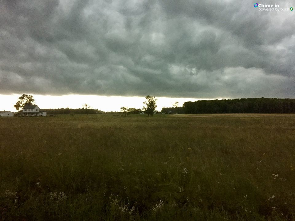 Storm heading into Sunman, IN Thursday, May 23rd. from Wendy Zinser