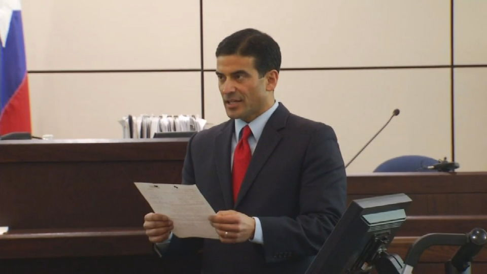 Bexar County DA Nico LaHood says the Express News has a clear agenda to attack him and his offce. (SBG Photo)
