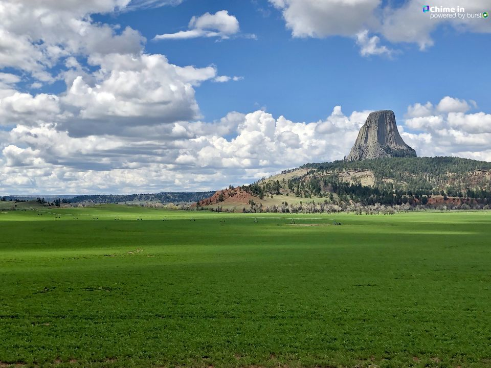 Devil's Tower in Wyoming, for World Photography Day.  (Photo: Adam Forgie / KUTV)