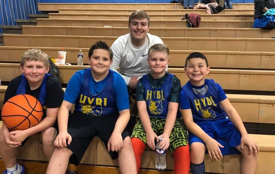 Even with Type 1 diabetes, Mason Plumley, (third in on the bottom row) plays basketball and acts like any 11-year-old. (WCHS/WVAH)