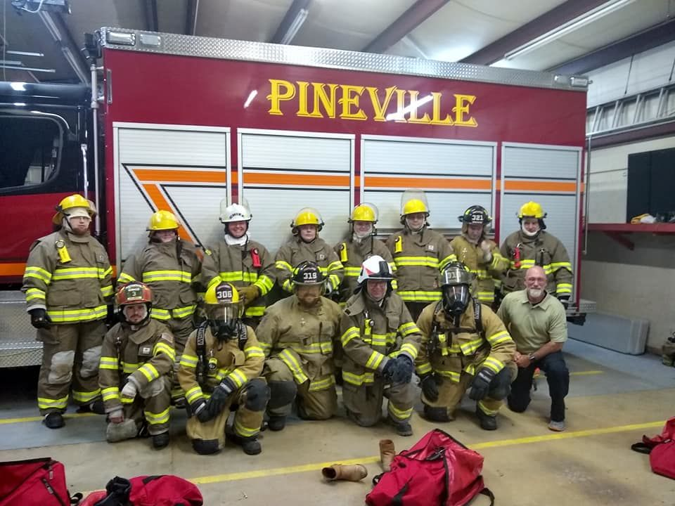 <p></p><p>Mike Stephen, a 20-year-veteran of law enforcement and chief of the Pineville Volunteer Fire Department, was killed in an officer-involved shooting in Stone County. (Photo: Pineville Volunteer Fire Department){&nbsp;}</p>