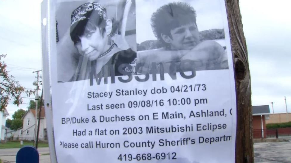 Missing posters of a woman later identified as a victim of Shawn Grate (WSYX/WTTE)<p></p>