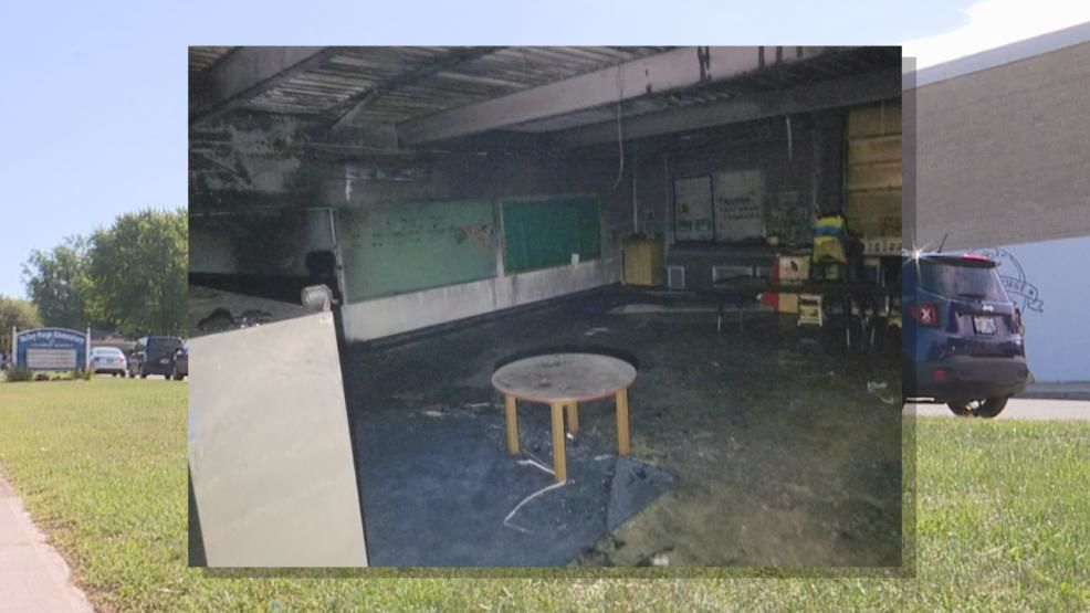 A classroom inside of Valley Forge Elementary School recently caught fire, leading to fire and smoke damage. (Valley Forge Elementary School)