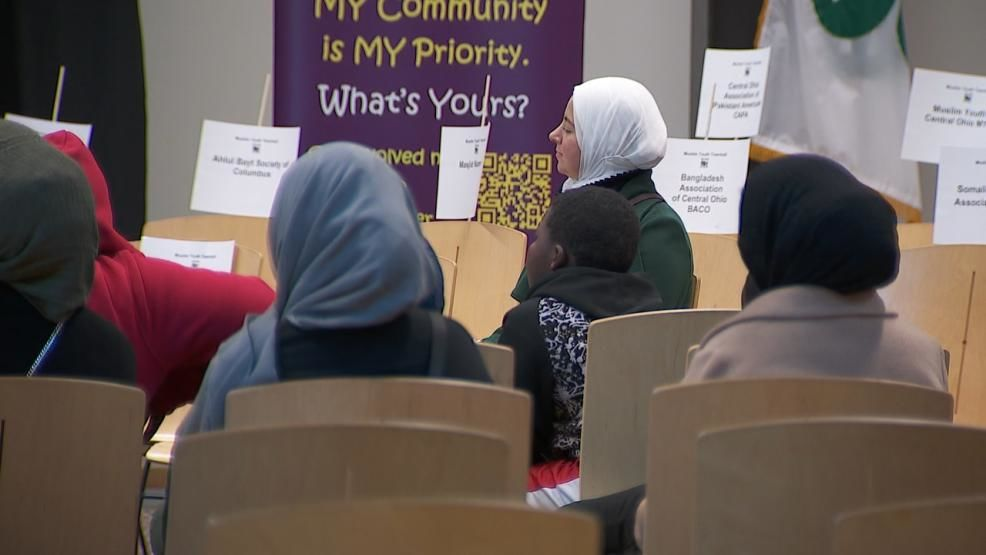 <p>The group My Project USA hosted a special town hall today at Ohio State's 4-H Youth Center. The aim of the event was to bring attention to issues impacting Muslim teens in the community. (WSYX/WTTE){&nbsp;}</p>