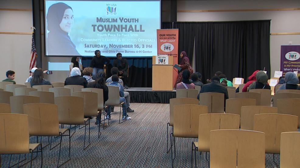 The group My Project USA hosted a special town hall today at Ohio State's 4-H Youth Center. The aim of the event was to bring attention to issues impacting Muslim teens in the community. (WSYX/WTTE)