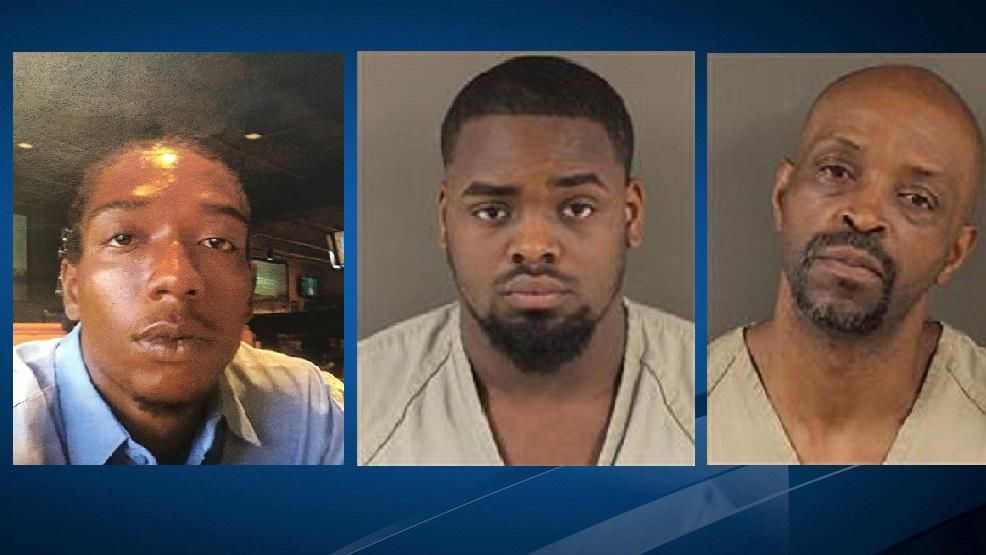 From left to right: Chris King, Justice Stringer, and Brisco Dawkins. They're charged with the murders of the owners of an east Columbus internet cafe (Courtesy: US Dept. of Justice)<p></p>