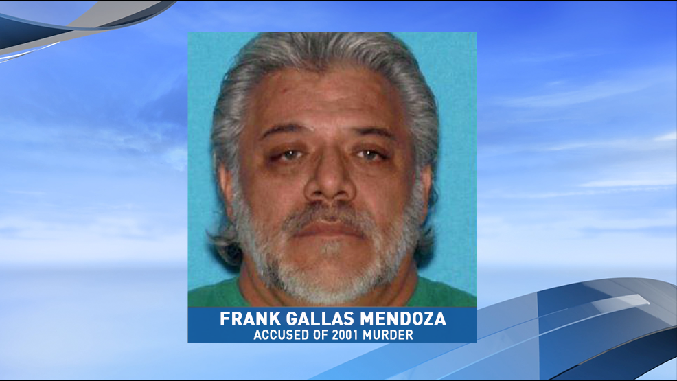 Frank Gallas Mendoza was arrested by authorities in Fresno, for the 2001 murder of Richard Cacero Lucero in Arizona, according to ADPS. (Photo Arizona Department of Public Safety)
