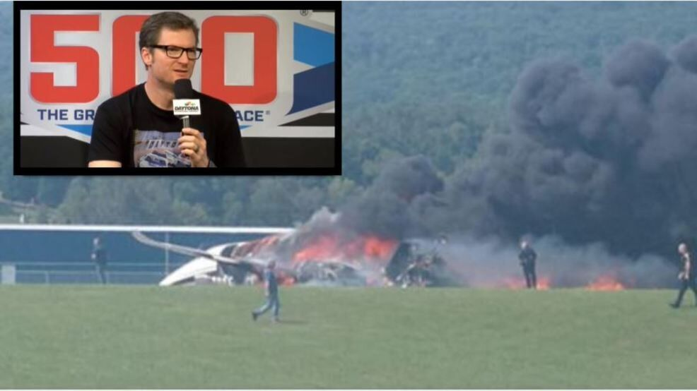 Pilot's actions likely caused Dale Earnhardt Jr's Tennessee plane crash (FOX 17 News/WCYB)