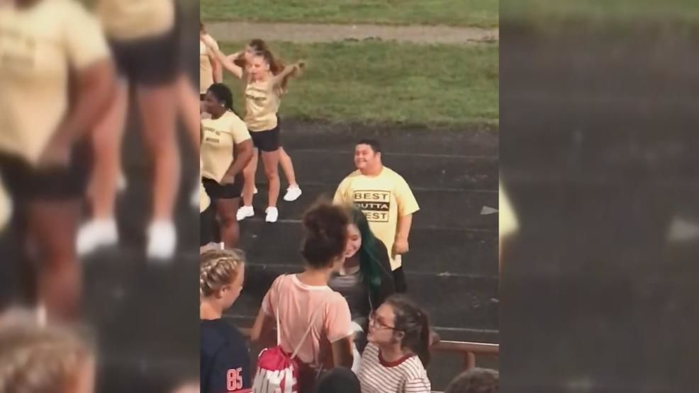 Glenn Wilson was elated when he was selected as a football cheerleader last spring at West High School. (Courtesy: Family)<p></p>