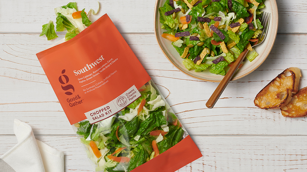Meet Good & Gather, Target's new healthy and wholesome grocery line // Courtesy of Target press release, linked to in story